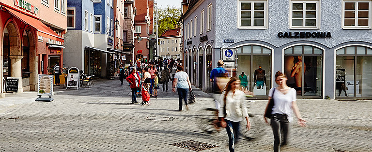 Shopping in Memmingen – shops and stores